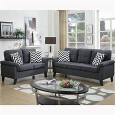 venetian worldwide liguria 2 blue gray sofa set vene