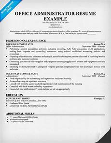 Resume Format For Admin Officer Office Administrator Free Resume Resume Examples