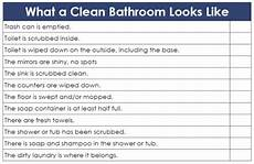 Bathroom Cleaning Checklist Template 6 Toilet Cleaning Checklist Templates Word Excel Fomats