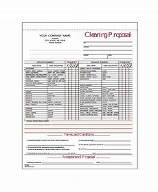 Cleaning Business Proposal Sample 15 Cleaning Proposal Templates Word Pdf Apple Pages