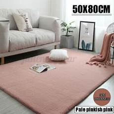 fluffy faux rabbit fur rug shaggy area rug living room