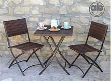 tavoli e sedie rattan set da giardino in polirattan tavolo e due sedie