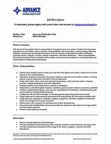 Accounts Receivable Resume Account Receivable Resume Shows Both Technical And