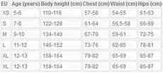 Women S Junior Fit Size Chart Fitting Amp Fabric Guide