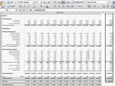 Pro Forma Statement Of Cash Flows Template Sywtoabp Spreadsheets B C Blog
