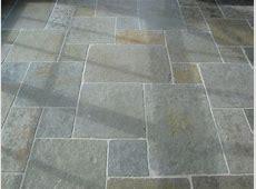 Kota Green Tumbled Set Pattern patio flooring.   Stone flooring, Flooring, Patio flooring