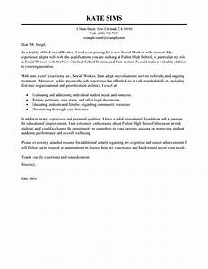 Social Services Cover Letter Examples Social Worker Cover Letter Examples Social Services