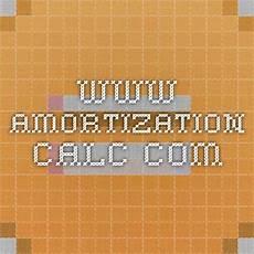 Amoritization Calc Www Amortization Calc Com Amortization Schedule