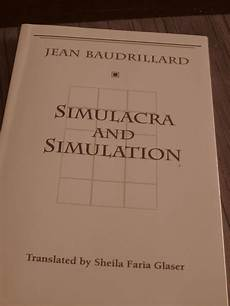 Simulacra And Simulation The Bar Stool Prophet The Matrix Quot Simulacra Amp Simulation Quot