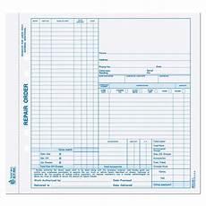 Work Order Forms For Mechanics Mechanic Work Order Form Designsnprint