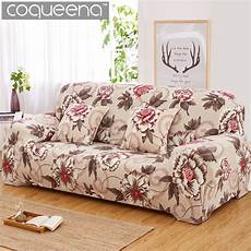 floral pattern elastic stretch universal sofa covers