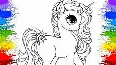 colorindo unic 243 rnio desenho kawaii unicorn aprenda as