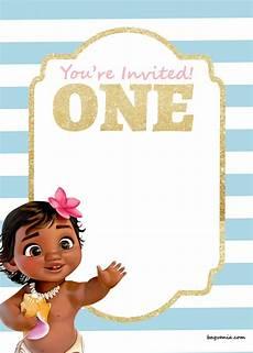 Baby Birthday Invitation Templates Free Printable Disney Princess 1st Birthday Invitations