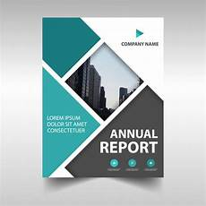 Report Cover Templates Abstract Annual Report Cover Vector Free Download