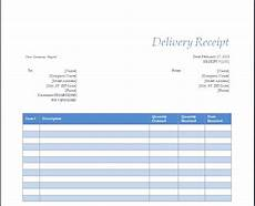 delivery receipt template free delivery receipt template excel calendar monthly printable