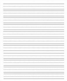 Printable Lined Paper For Kindergarten 14 Lined Paper Templates In Pdf Free Amp Premium Templates