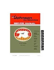 1978 Johnson 55 Hp Outboards Service Manual 13 95