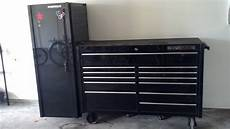matco tool box side cabinet espotted