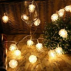 Pine Cone String Lights Pinecone Garland String Fairy Light 5m 20leds Led Pine