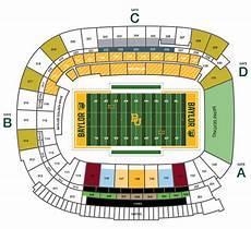 Baylor Football Seating Chart Bear Foundation Baylor University