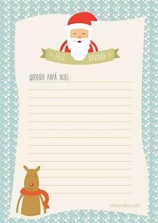 Cartas Para Papa Noel Carta A Pap 225 Noel Para Los Regalos De Navidad Para Imprimir