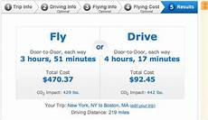 Travel Costs Calculator Cost Vs Conscience A Travel Calculator The New York Times