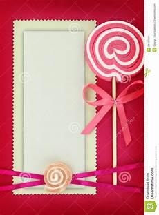 Pink Invitation Card Baptism Invitation Card In Pink Stock Image Image 29457631