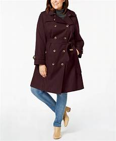 plus size trench coats for 4x foggy fog cotton plus size breasted hooded trench