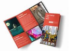 Art Gallery Brochure Design City Art Exhibition Brochure Template Mycreativeshop