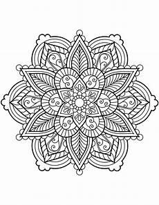 Malvorlagen Blumen Mandala Flower Mandala Coloring Pages Best Coloring Pages For