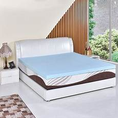 costway 3 quot gel memory foam mattress california king size