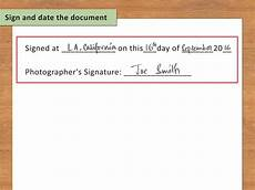 How To Write Copyright How To Write A Copyright Release 12 Steps With Pictures