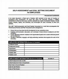 Employee Assessment Form Employee Assessment 8 Free Pdf Word Documents Download