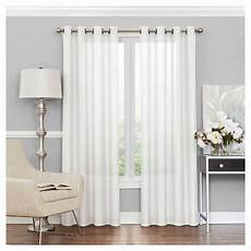 Target Light Filtering Curtains Liberty Light Filtering Sheer Curtain White 52 Quot X63