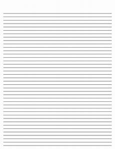 Blank Line Paper Blank Lined Paper Template White Gold