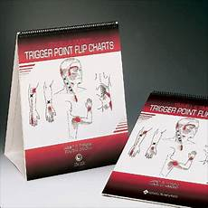 Travell Trigger Point Chart Travell And Simons Trigger Point Flip Charts The Physio
