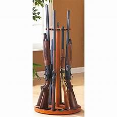 24 gun turntable rifle rack with magnets 159662 gun