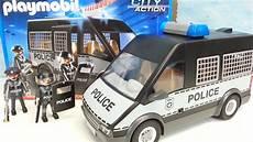 Playmobil Malvorlage Polizei Playmobil Polizei Mannschaftswagen 6043 Auspacken Seratus1