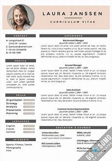 Creative Word Cv Templates Cv Template Milan