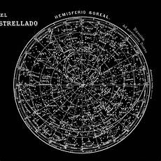 Astronomical Chart Of Stars And Planets Celestial Map Constellations Of The Northern By