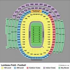 Lambeau Field Billy Joel Seating Chart Lambeau Field Seating Chart Green Bay Packers
