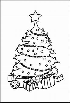 Malvorlage Weihnachtsbaum Mit Geschenken Weihnachten 19 Ausmalbilder Gratis