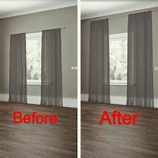 How To Hang Curtains Properly 27 Easy Diy Remodeling Ideas On A Budget Before And