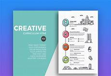 Creative Word Cv Templates 25 Free Creative Resume Templates Word Amp Psd Downloads