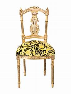 Versace Chair Versace Giltwood Side Chair Furniture Ves29021 The