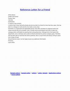 Information To Give Someone Writing A Recommendation Letter Personal Reference Letter For A Friend Examples Of