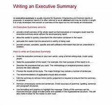 Executive Summary Report Free 8 Sample Executive Reports In Google Docs Ms Word