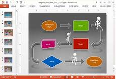 Flow Chart Powerpoint Animated Flow Chart Diagram Powerpoint Template