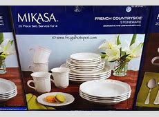 Costco: Mikasa French Countryside Stoneware 20 Piece