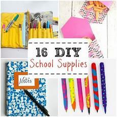 16 diy school supplies saves money